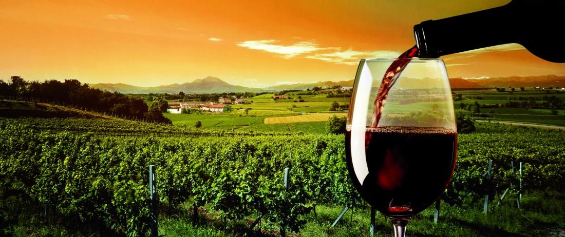 Italienisch + italienischer Wein