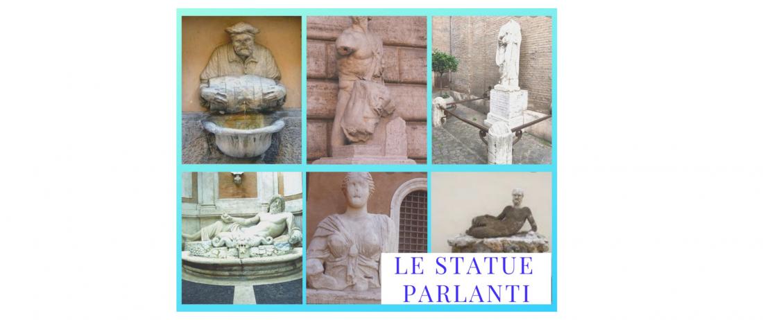 A Roma anche le statue parlano!